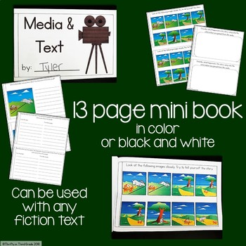 Media and Text Interactive Mini Book {RL.4.7}
