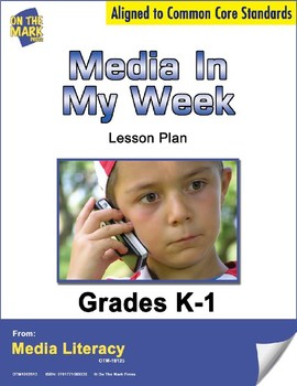 Media in My Week Survey Lesson Plan  - Aligned to Common Core
