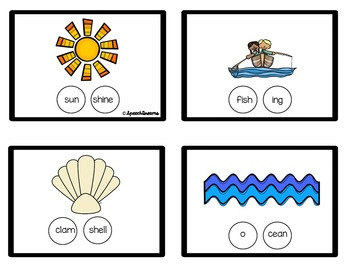 Medial Consonant Deletion Practice {Phonology Flash Cards Visual Prompt}