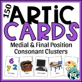 Medial & Final Consonant Cluster Articulation Cards