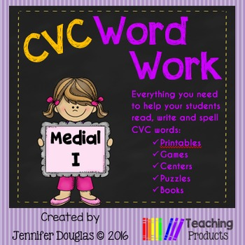 Medial I CVC Word Work