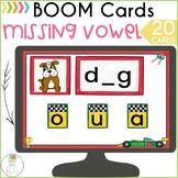 Medial Short Vowel Sounds BOOM Cards