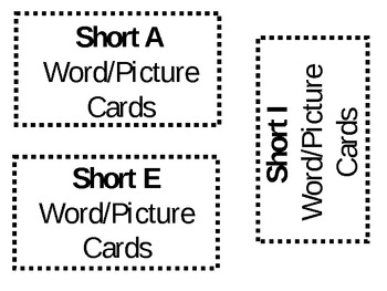 Free Short vowel word cards: short u by Author Kevin Bolger | TpT