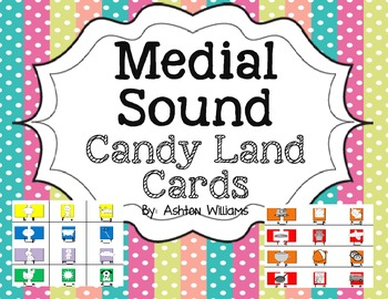 Medial Sound Candy Land Cards