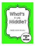 Middle sounds write and wipe cards