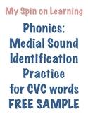 Medial Sound ID for CVC words
