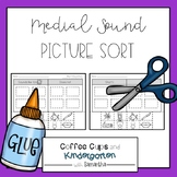 Medial Sound Picture Sort: Short Vowels & Long Vowels (Cut