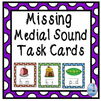 Medial Sound Task Cards