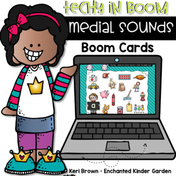 Medial Sound Task Cards - Techy in Boom