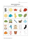 Medial Sound Worksheet (Short and Long Vowels)