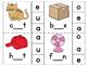 Medial Sounds CVC Clip Game Center Word Work