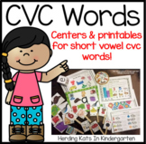 Medial Sounds RTI Pack with Short Vowel CVC Words
