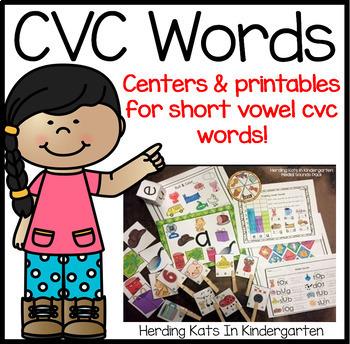 CVC Words Pack