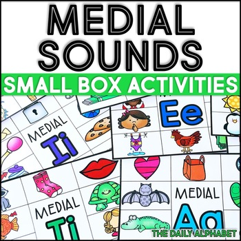 Medial Sounds: Small Box Activities