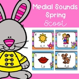 Medial Sounds Spring Scoot/ Write the Room