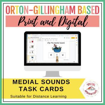 Medial Sounds Task Box