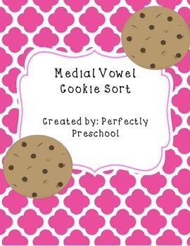 Medial Vowel Cookie Sort