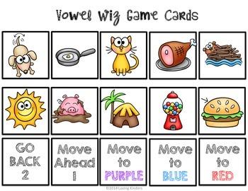 Medial Vowel Game, Vowel Wiz