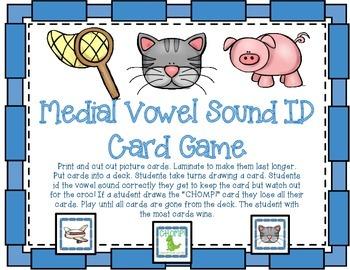Medial Vowel ID Game
