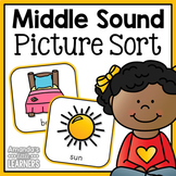 Middle Sound Sorting Cards