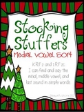 Medial Vowel Sort {Stocking Stuffers}