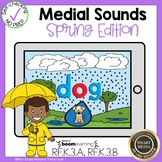 Medial Vowel Sound Boom Cards℠