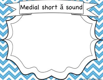 Medial Vowel Sounds Activities