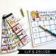 Medial Vowels Clip Cards (Strip Clips & Recording Sheets)