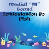 Medial /th/ Sound Go-Fish Cards