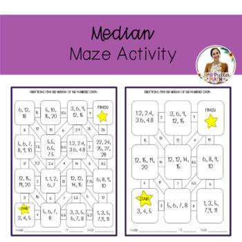 Median Maze Activity