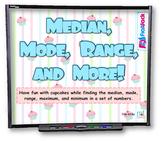 Median, Mode, Range & More Data Sets SMART BOARD Game