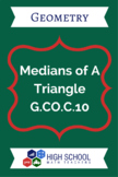 Medians of A Triangle Lesson Plan G.CO.C.10