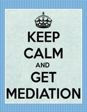 Mediation & Conflict Resolution Editable Forms for School Counselors