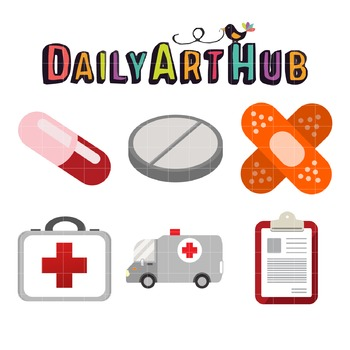 Medic Clip Art - Great for Art Class Projects!