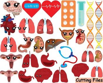 Medic Doctor Nurse Cutting files svg biology Clip art tool
