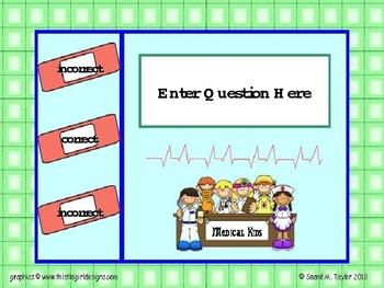Medic Kids PowerPoint Game Template