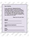 Medicaid Service Coordinator Letter
