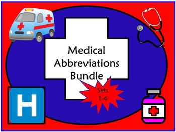 Medical Abbreviations Quiz Bundle