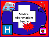 Medical Abbreviations Quiz Bundle