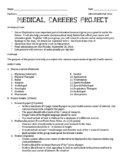 Medical Career Project