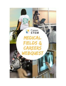 Medical Careers Webquest - explore STEM careers in medical fields!