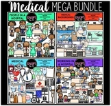 Medical Clip Art Mega Bundle {Educlips Clipart}