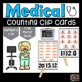 Medical Count and Clip Number Cards