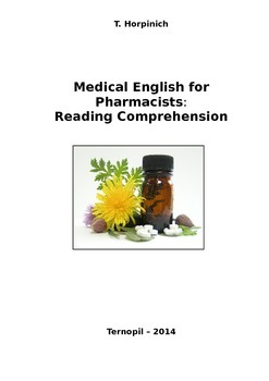 Medical English for Pharmacists: Reading Comprehension