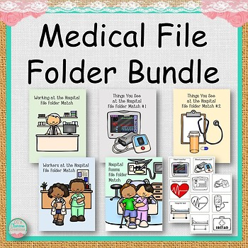 Medical File Folders Bundle