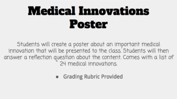 Medical Innovations Poster