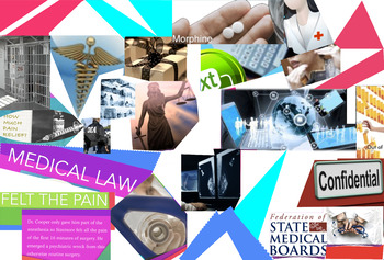 Medical Law - Privilege - Malpractice - Ethics - Informed Consent - FREE POSTER