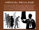 Medical Law ~ Privilege ~ Malpractice ~ Ethics ~ Informed Consent ~ 75 Slides