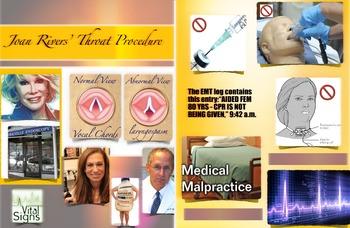 Medical Malpractice Law ~ Joan Rivers ~ FREE POSTER