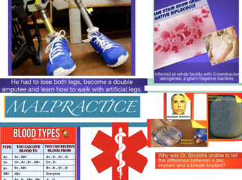 Medical Malpractice Law ~ Top Cases + Test + Flashcards =